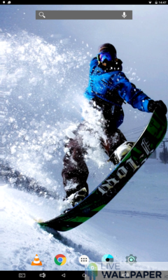 Snowboard Wallpaper - a cool phone wallpaper for Android - Screenshot #1