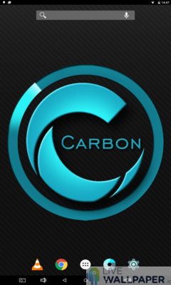 Carbon Wallpaper - a cool phone wallpaper for Android - Screenshot #1