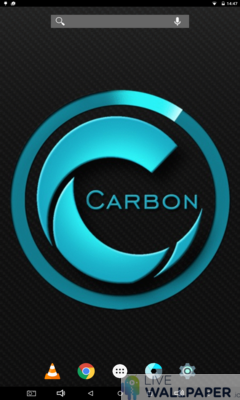 Carbon Wallpaper - a cool phone wallpaper for Android - Screenshot #2