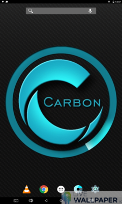 Carbon Wallpaper - a cool phone wallpaper for Android - Screenshot #3