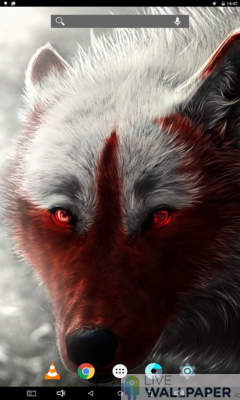 Lone Wolf Wallpaper - a cool phone wallpaper for Android - Screenshot #3