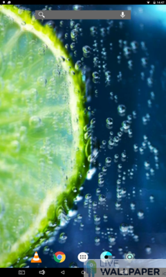 Lime Wallpaper - a cool phone wallpaper for Android - Screenshot #1