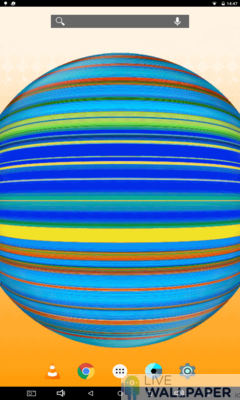 Spinning Circle Wallpaper - a cool phone wallpaper for Android - Screenshot #1