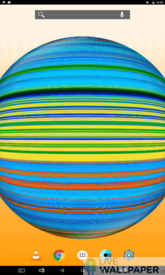 Spinning Circle Wallpaper - a cool phone wallpaper for Android - Screenshot #2