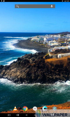 Lanzarote Island Wallpaper - a cool phone wallpaper for Android - Screenshot #1