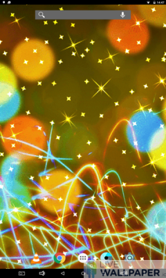 Gold Glitter Wallpaper - a cool phone wallpaper for Android - Screenshot #3