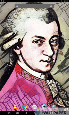 Animated Mozart Wallpaper - a cool phone wallpaper for Android - Screenshot #2