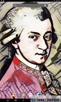 Animated Mozart Wallpaper - a cool phone wallpaper for Android - Screenshot #3