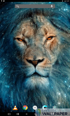 Lion King Live Wallpaper - a cool phone wallpaper for Android - Screenshot #1