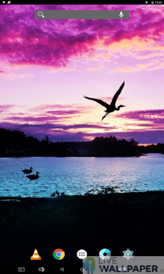 Purple Sky Wallpaper - a cool phone wallpaper for Android - Screenshot #1