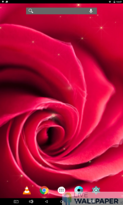 Artistic Rose Live Wallpaper - a cool phone wallpaper for Android - Screenshot #1