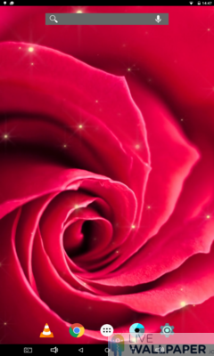 Artistic Rose Live Wallpaper - a cool phone wallpaper for Android - Screenshot #3