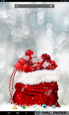 Christmas Present Wallpaper - a cool phone wallpaper for Android - Screenshot #1
