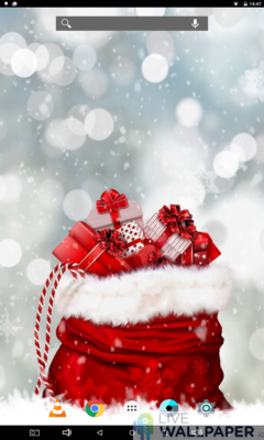 Christmas Present Wallpaper - a cool phone wallpaper for Android - Screenshot #2