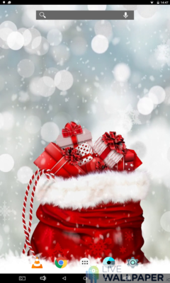 Christmas Present Wallpaper - a cool phone wallpaper for Android - Screenshot #3