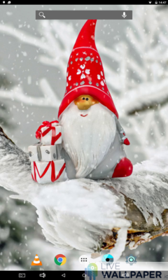 Cute Christmas Wallpaper - a cool phone wallpaper for Android - Screenshot #1