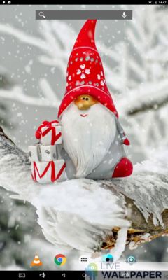 Cute Christmas Wallpaper - a cool phone wallpaper for Android - Screenshot #2