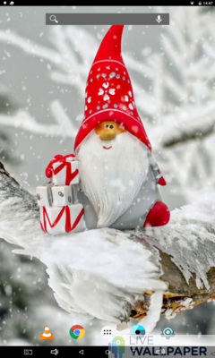 Cute Christmas Wallpaper - a cool phone wallpaper for Android - Screenshot #3