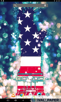 American Flag Wallpaper - a cool phone wallpaper for Android - Screenshot #1