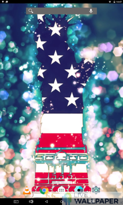 American Flag Wallpaper - a cool phone wallpaper for Android - Screenshot #2