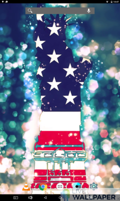 American Flag Wallpaper - a cool phone wallpaper for Android - Screenshot #3