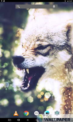 Angry Wolf Wallpaper - a cool phone wallpaper for Android - Screenshot #3