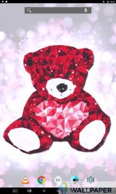 Teddy Bear Wallpaper - a cool phone wallpaper for Android - Screenshot #1