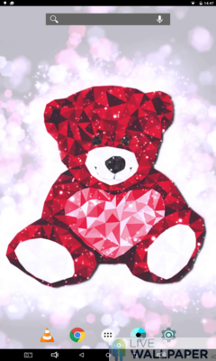 Teddy Bear Wallpaper - a cool phone wallpaper for Android - Screenshot #3