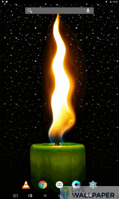 Candle Phone Wallpaper - a cool phone wallpaper for Android - Screenshot #1