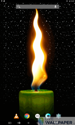 Candle Phone Wallpaper - a cool phone wallpaper for Android - Screenshot #3