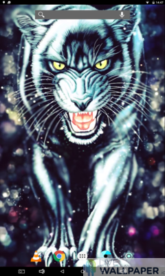 Black Panther Live Wallpaper - a cool phone wallpaper for Android - Screenshot #1