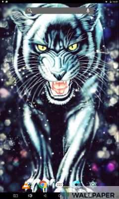 Black Panther Live Wallpaper - a cool phone wallpaper for Android - Screenshot #2