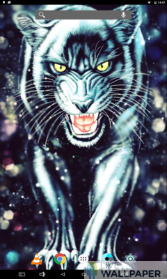 Black Panther Live Wallpaper - a cool phone wallpaper for Android - Screenshot #3