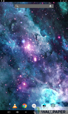 S9 Galaxy Live Wallpaper - a cool phone wallpaper for Android - Screenshot #1