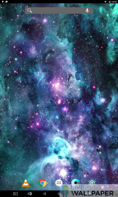 S9 Galaxy Live Wallpaper - a cool phone wallpaper for Android - Screenshot #3