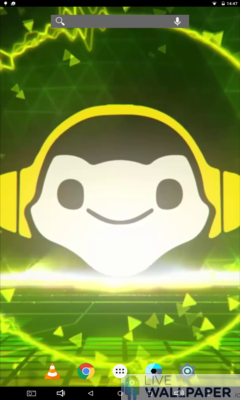 Lúcio EQ Live Wallpaper - a cool phone wallpaper for Android - Screenshot #3