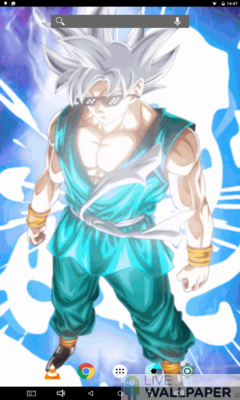 Goku MUI Live Wallpaper - a cool phone wallpaper for Android - Screenshot #3