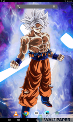 Goku Ultra Instinct Live Wallpaper App Store For Android Wallpaper App Store Livewallpaper Io