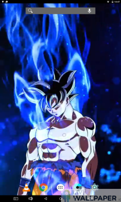 Ultra Instinct Goku Live Wallpaper - a cool phone wallpaper for Android - Screenshot #1