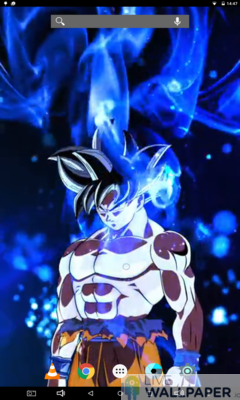 Ultra Instinct Goku Live Wallpaper - a cool phone wallpaper for Android - Screenshot #3