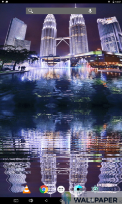Petronas Twin Towers Live Wallpaper - a cool phone wallpaper for Android - Screenshot #1