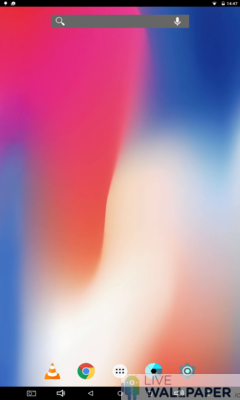 iPhone X Gradient Live Wallpaper - a cool phone wallpaper for Android - Screenshot #1