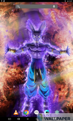 Beerus Live Wallpaper - a cool phone wallpaper for Android - Screenshot #1