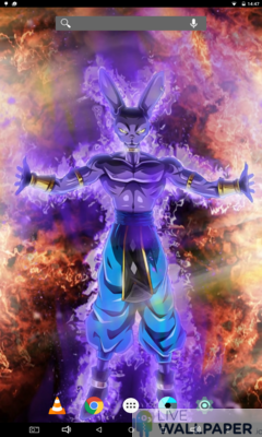 Beerus Live Wallpaper - a cool phone wallpaper for Android - Screenshot #3