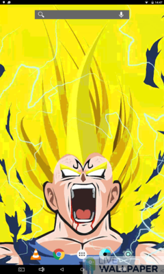 DBZ Heroes Live Wallpaper - a cool phone wallpaper for Android - Screenshot #1