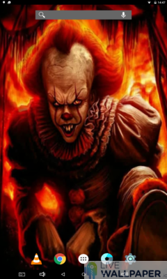 Pennywise Live Wallpaper - a cool phone wallpaper for Android - Screenshot #2