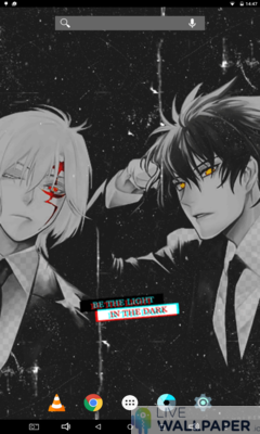 D.gray-man Glitch Live Wallpaper - a cool phone wallpaper for Android - Screenshot #3