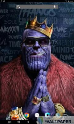 Pimped Thanos Live Wallpaper - a cool phone wallpaper for Android - Screenshot #3