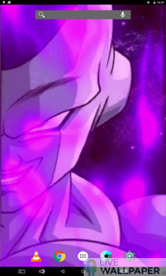Frieza Closeup Live Wallpaper - a cool phone wallpaper for Android - Screenshot #1
