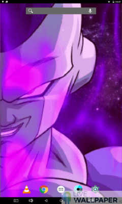 Frieza Closeup Live Wallpaper - a cool phone wallpaper for Android - Screenshot #3